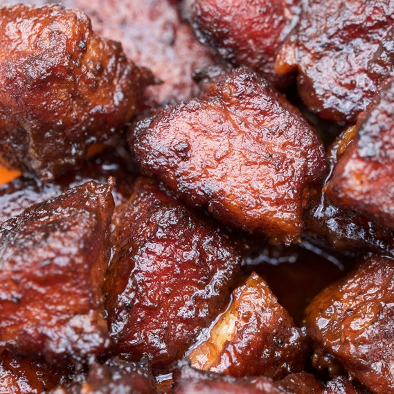 Smoked Pork Belly Burnt Ends #dinner #simpletomake