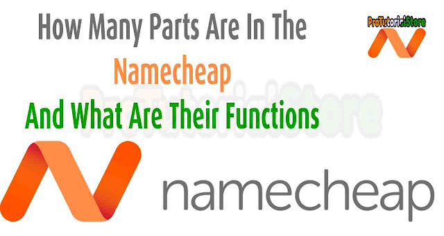 How many parts are in the Namechap and what are their functions