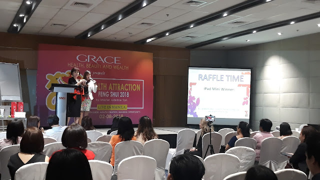 Entrepreneur Ms Myrna Yao of Richprime Global/Grace Cosmetics.