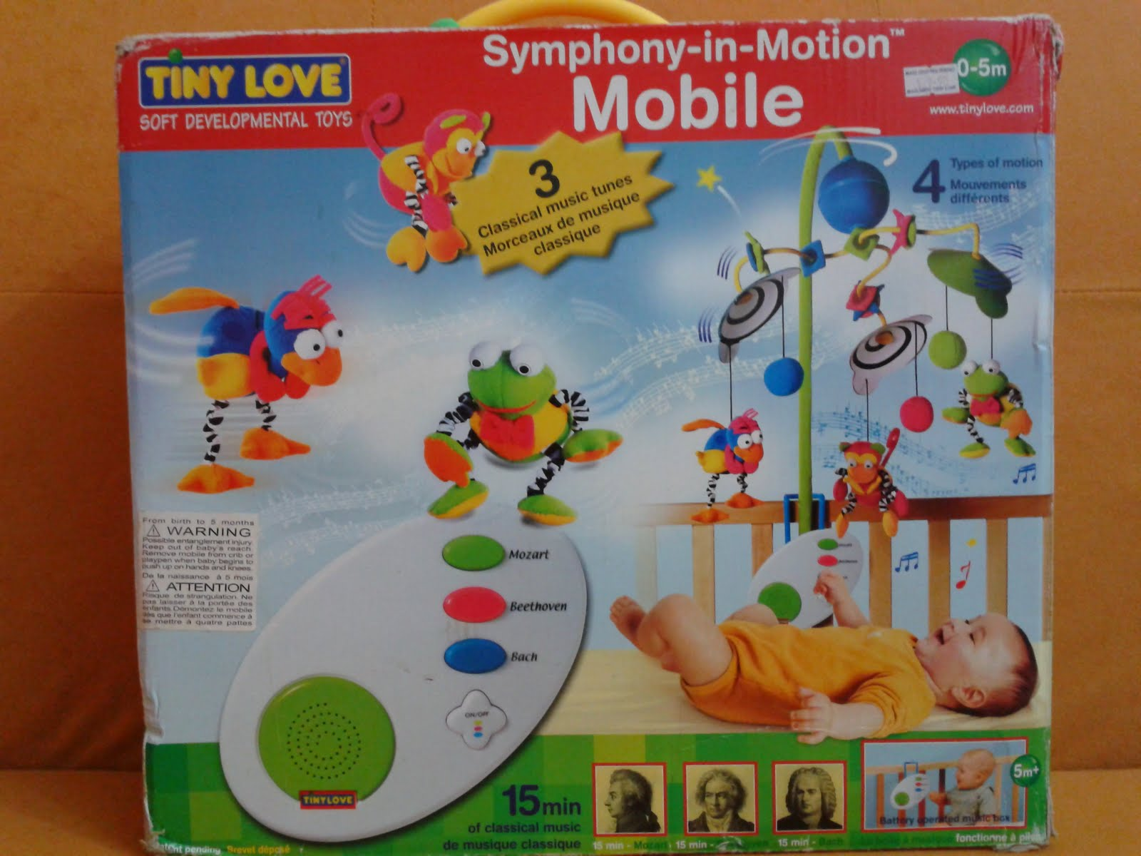 Pu3 Store @~Sold Item~@: Tiny Love Symphony in Motion Mobile