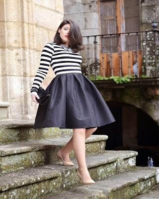 outfits skirt midi elegant