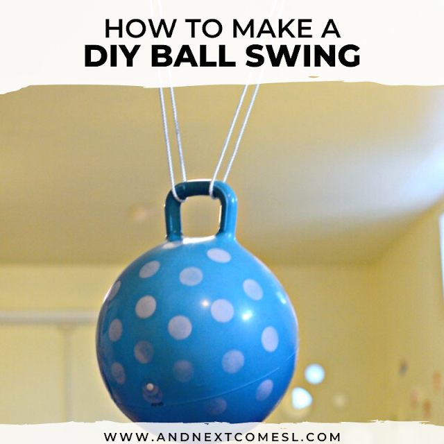 DIY kids swing