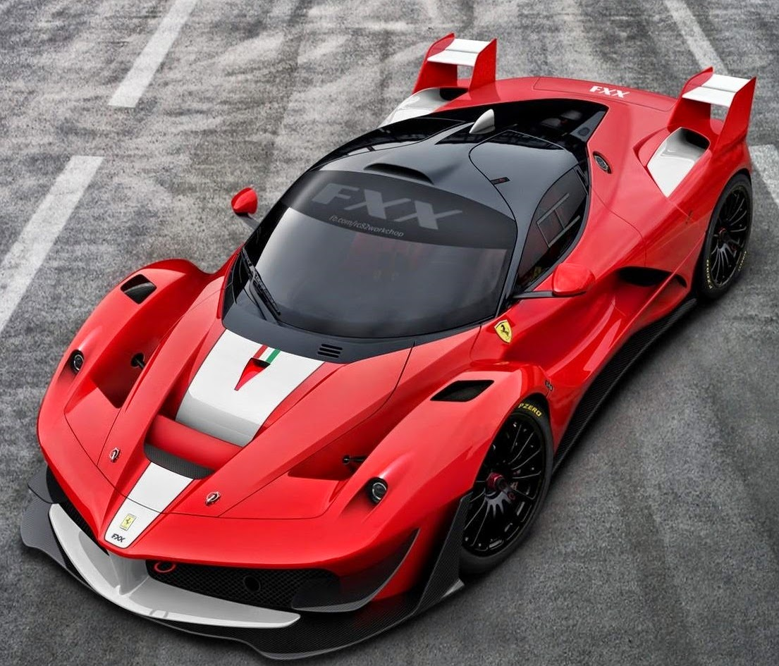 SuperCarWorld: 2016 Ferrari FXX K