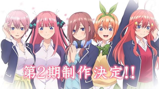 Segunda temporada de Go-Toubun no Hanayome