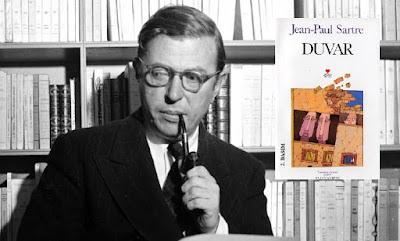 Jean-Paul Sartre Duvar