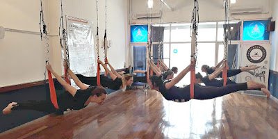 yoga aereo teacher training