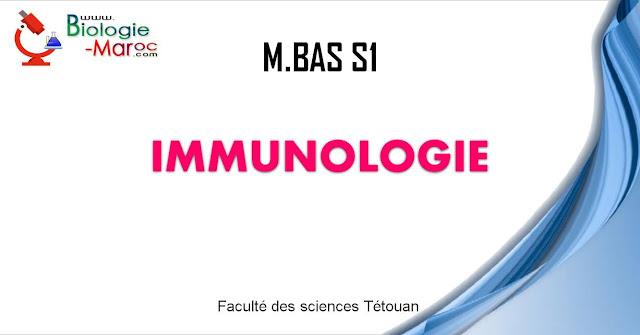 Immunologie ¦ Master Biotechnologie, Alimentation et Santé S1