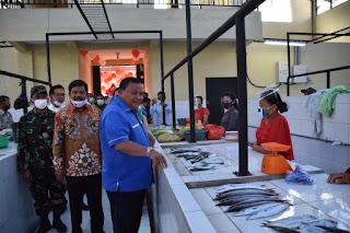 Wali Kota Resmikan Pasar Modern Nauli Sibolga dan Tutup Pasar Murah