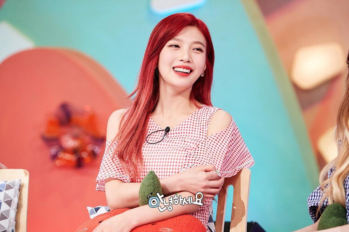 Red velvet joy look alike 5