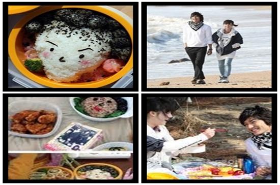 Marmitas com a cara de Jun Pyo