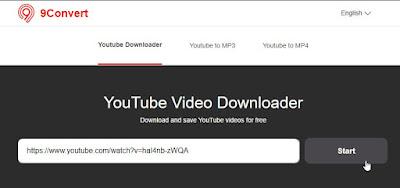 Cara Download Video Youtube Tanpa Aplikasi Dengan 9convert