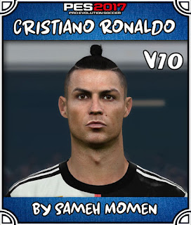 PES 2017 Faces Cristiano Ronaldo by Sameh Momen