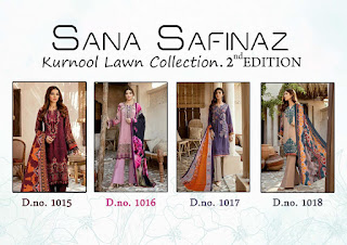 Sana Safinaz kurnool lawn Collection 2nd Edition Pakistani Suits