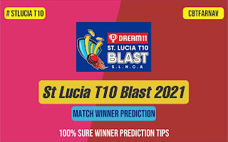 best team for dream11 today match Prediction - CCP vs SCL St. Lucia T10 Blast