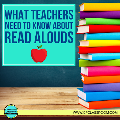 This blog post answers all of the most common questions about interactive read alouds: What is a read aloud? Why are read alouds important? What is the difference between shared reading and read aloud? How do I do a read aloud? Get all the practical tips and ideas you need to start implementing it in your elementary classroom today! #readaloud #readalouds #reading