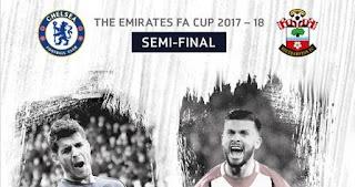 Susunan Pemain Chelsea vs Southampton - Semifinal Piala FA
