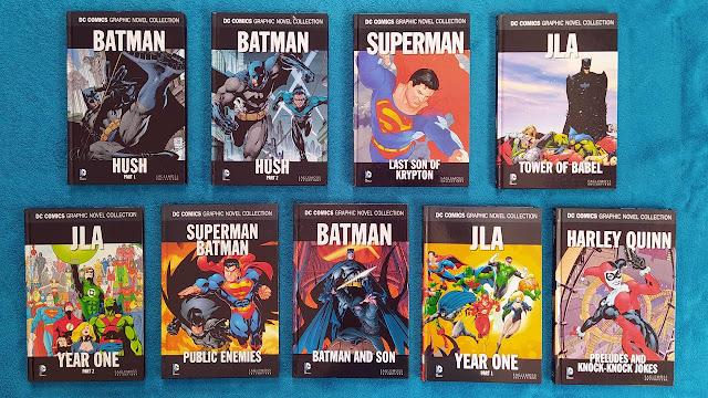 Eaglemoss DC Comic Collection Vol 1 - 9