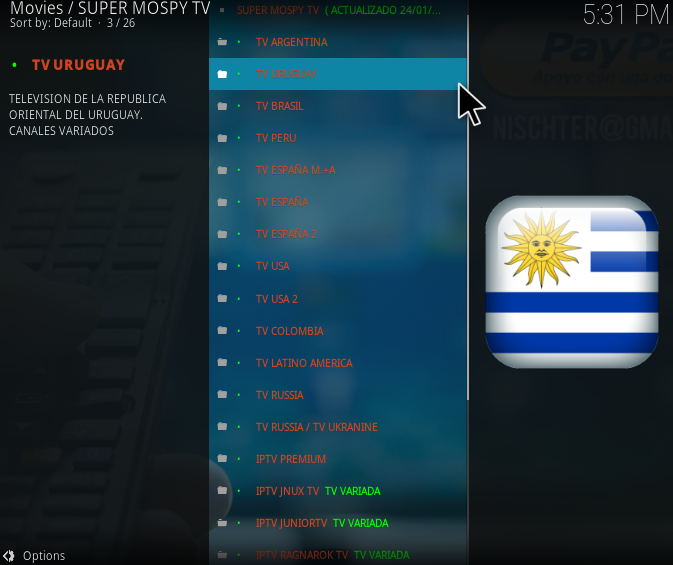 colombia television online