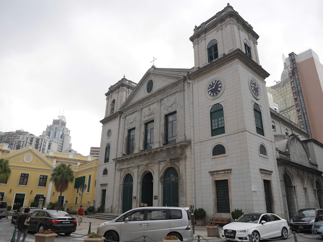 Roman Catholic Cathedral in Macau, China