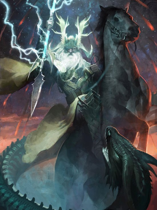 Clint Cearley deviantart ilustrações fantasia card games sombrio magic gathering legend cryptids