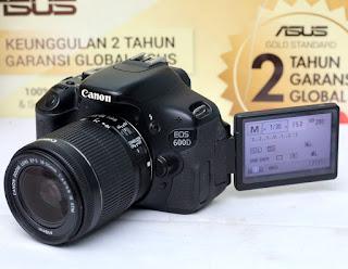 Jual Canon Eos 600D Kamera DSLR Bekas