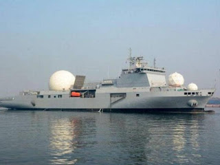 'INS Dhruv', India's First Indigenous Nuclear Missile Tracking Ship
