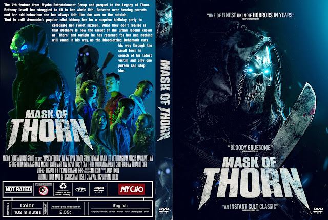 Mask of Thorn DVD Cover