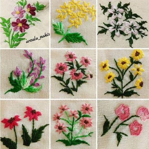 Mẫu thêu hoa nhí đẹp - Hinh 11