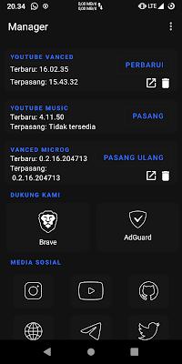 Cara install Youtube vanced dengan mudah