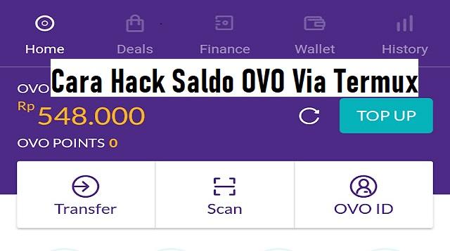 Cara Hack Saldo OVO Via Termux