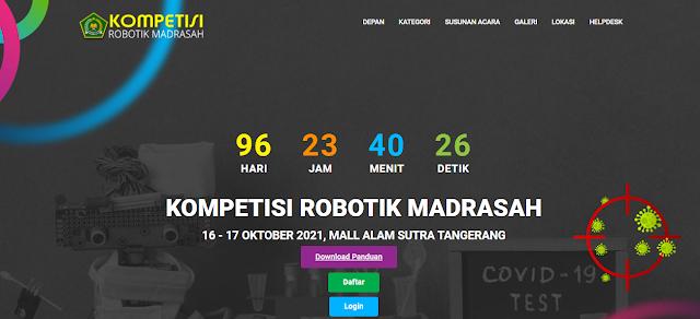 Kemenag Persiapkan Pertandingan Robotik Madrasah 2021