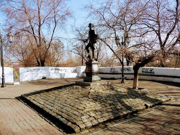 Одесса. Памятник «Первостроителю Одессы — Иосифу Дерибасу»