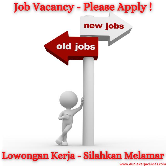 Job Vacancy Terbaru