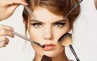Makyajlı Kadın Fotoğrafı