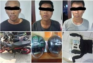 Tiga Pencuri dengan Modus Pecah Kaca Mobil di Simpang Rumbio Solok, Ditangkap di Lubuk Linggau