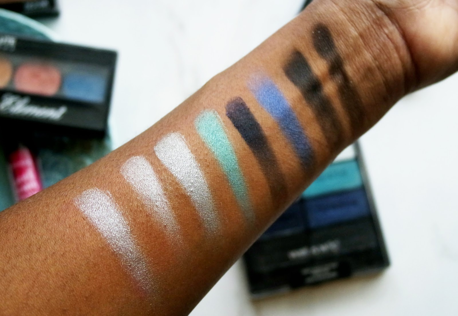 Wet n Wild Color Icon Blue Had me at Hello Swatches