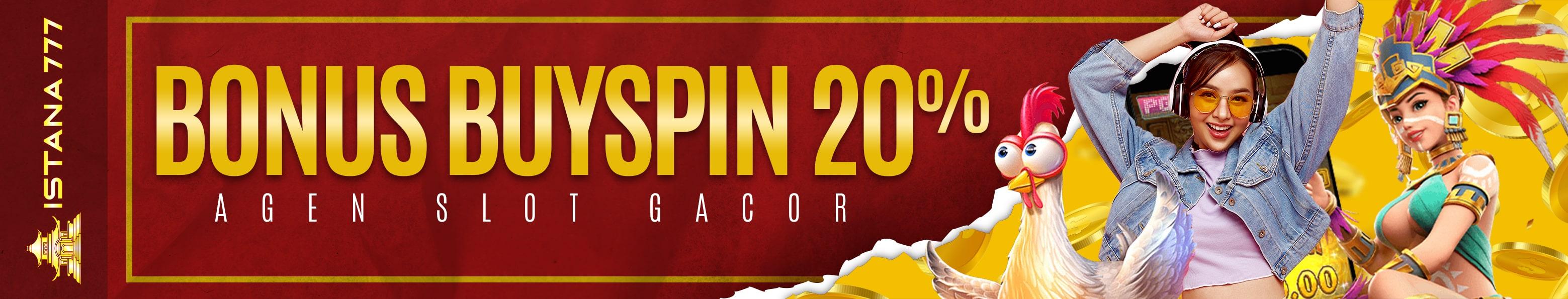Bonus Buy Spin 20%