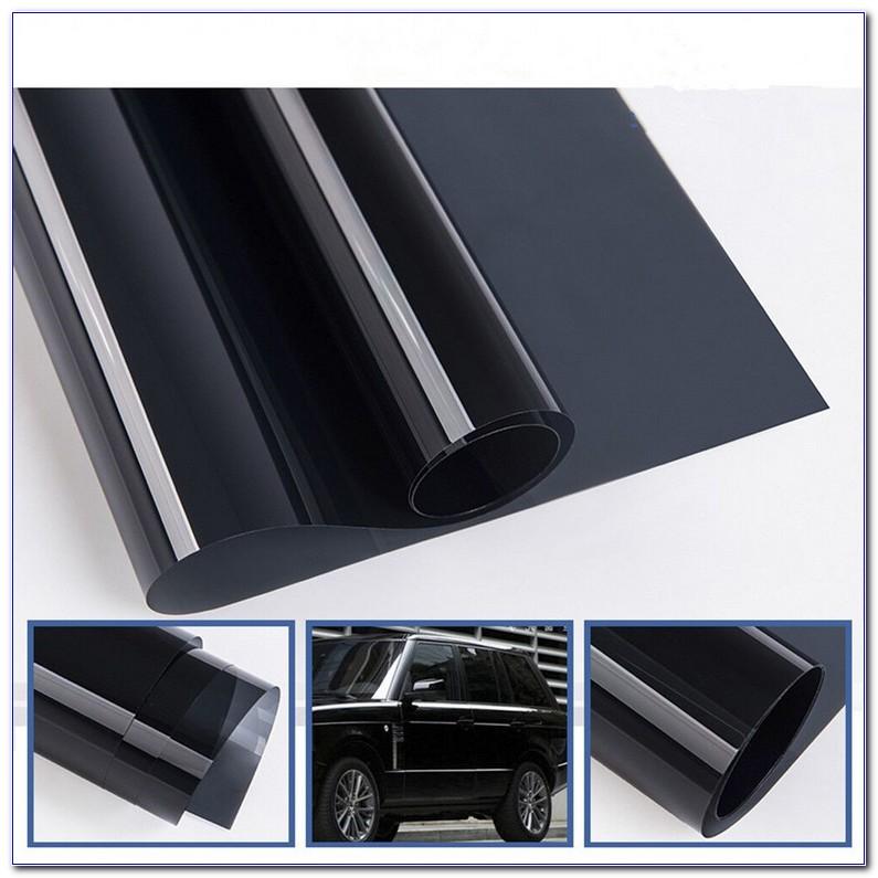 24 X 100 Ft Roll 5/% Window Tint 2 Ply Professional Dark Charcoal Tint Film Bulk Self Adhesive