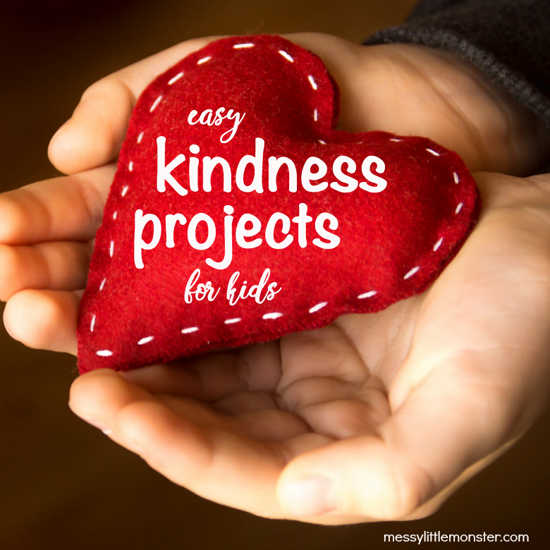 easy kindness projects for kids