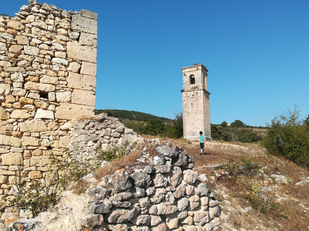 Torre de San Miguel en Ochate