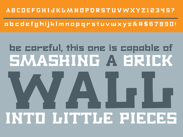Font Terbaru Untuk Desain Grafis - Arktika Font Letters