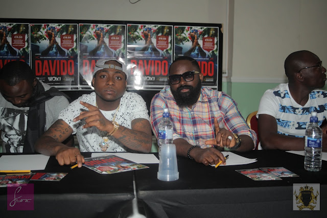 DAVIDO IN UK