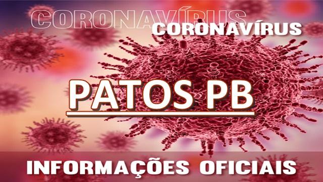 De ontem para hoje, Patos tem 54 confirmações de coronavírus e chega a 428 casos