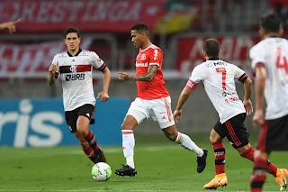 Flamengo e Internacional fazem o melhor jogo do brasileirão 2020