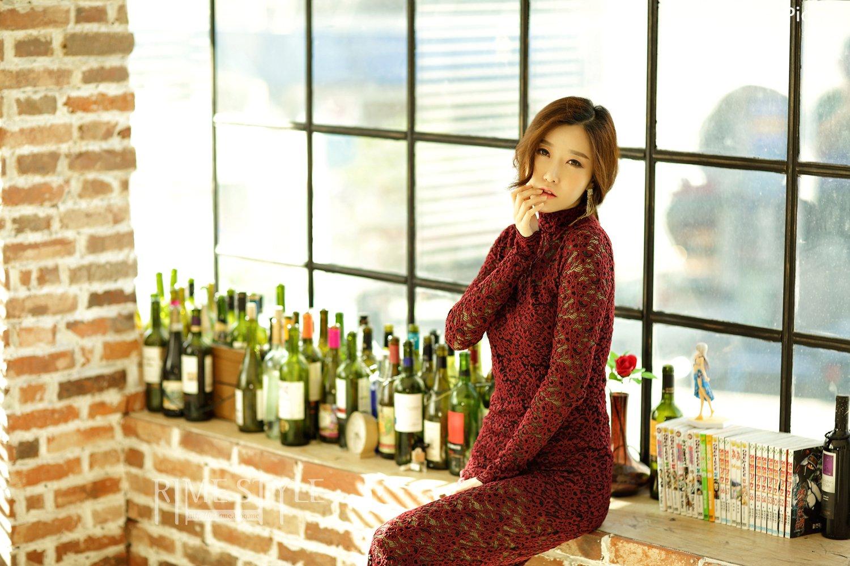 Image Oh Ha Ru Model Beautiful Image - Studio Photoshoot Collection - TruePic.net - Picture-5