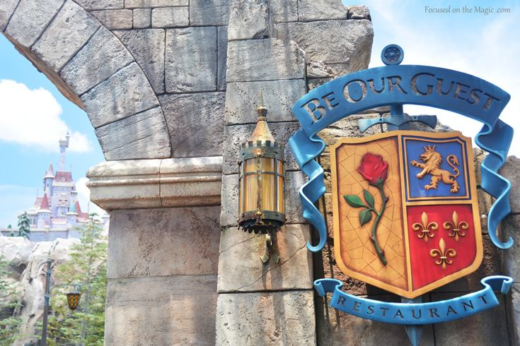 Be Our Guest in the Magic Kingdom, Walt Disney World Florida