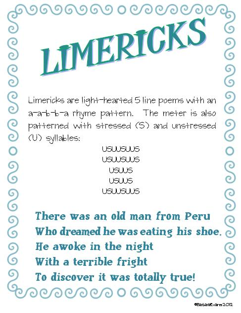 Simply Centers: Poetry Centers Poster #7