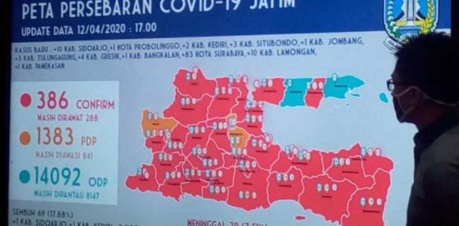 Sehari Ada 83 Pasien Positif, Khofifah Akan Evaluasi Kota Tri Rismaharini