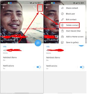 Satu Cara Ampuh Untuk Menghapus Kontak Telegram | How to Delete Telegram  Contact
