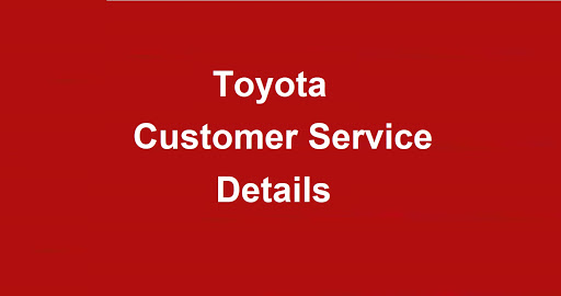Toyota Customer Service Number